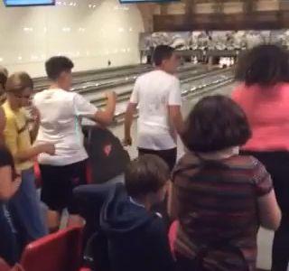 Vendredi après-midi au bowling