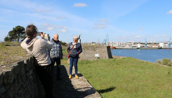 Le fort de Pen-Mané, un site qui intéresse !