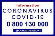 Coronavirus (SARS-CoV-2, Covid-19) : numéros utiles