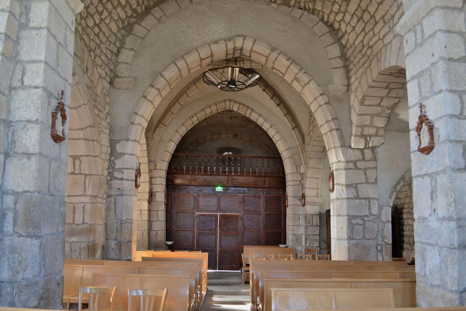 L'église de La Chapelle-en-Lafaye...