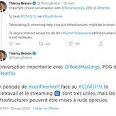 #StayAtHome NETFLIX et Youtube degradent volontairement leurs flux pour alléger la bande passante en Europe - OOKAWA Corp. Raisonnements Explications Corrélations