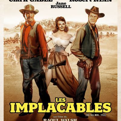 Les implacables - The tall men