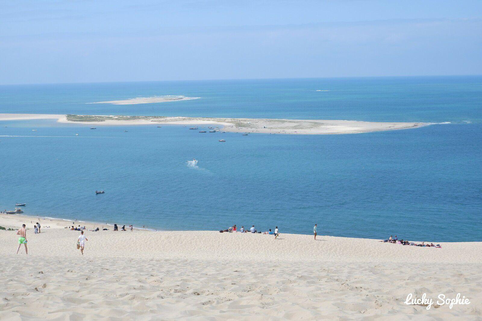 Le banc d'Arguin vu de la Dune du Pilat