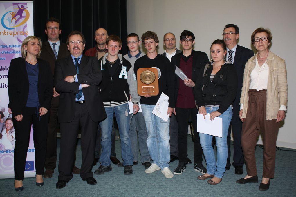 Finale académique du Tournoi de gestion. Mercredi 16 mai 2012 au lycée Roosevelt de Reims
