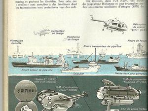 """La guérilla sous-marine ( the old """" seabed warfare """" ) dans la Mer du Nord ."""