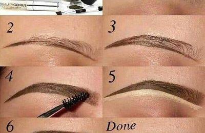 Como maquillar tus cejas perfectamente