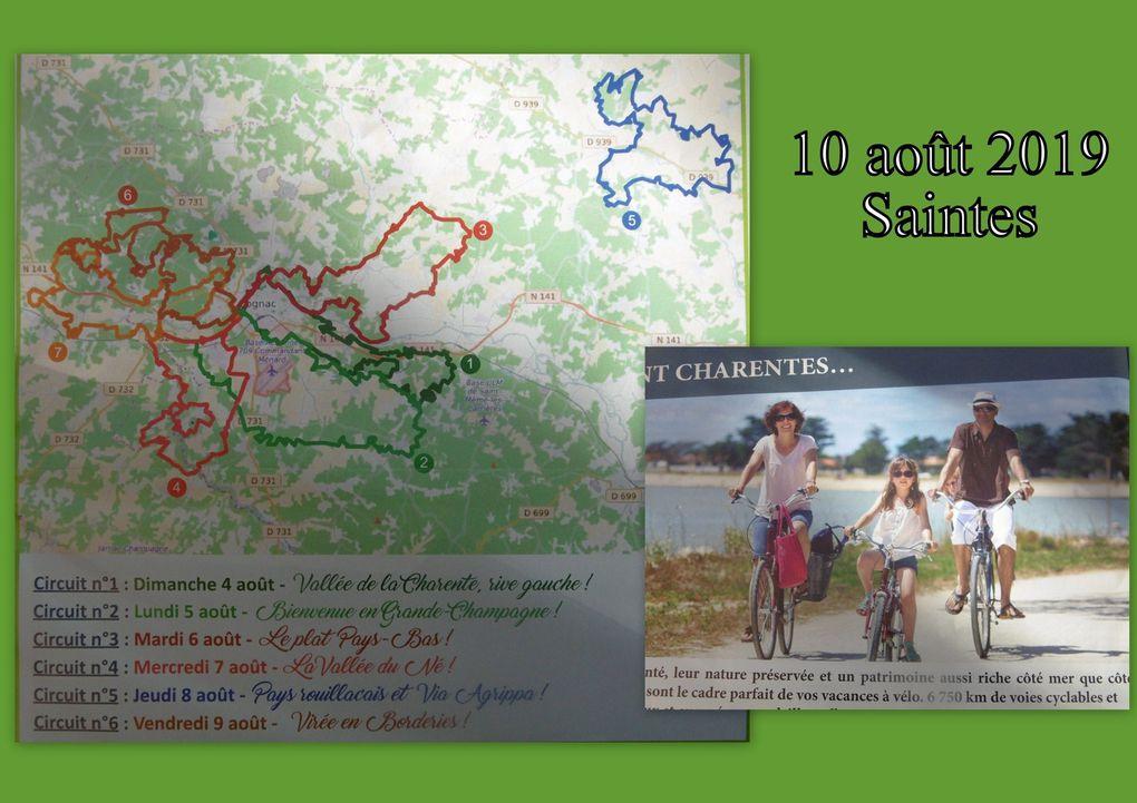 8 - Cérémonie du 8 mai à Saintes. Rayonnez en Charentes en Vélo. Saintes dico de 1771.