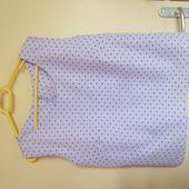 Top en coton taille 44 / 46 - paminatelier.com - les tutos de Pamina