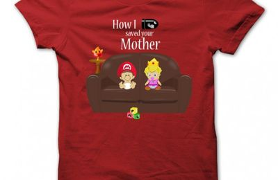 Tshirt How I Saved Your Mother Couleur Rouge
