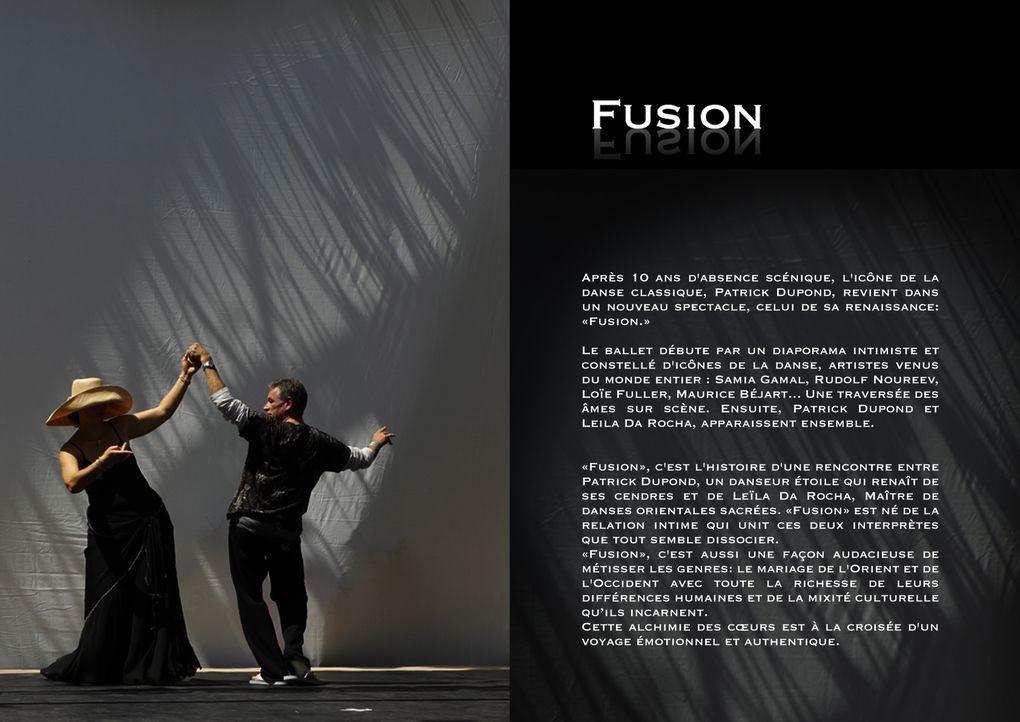 Le spectalce des artistes Leila Da Rocha et Patrick Dupond Une poésie des corps qui unit les danses de l'Orient et celles de l'Occident en un seul spectacle. C'est la naissance d'un nouveau savoir sur la danse et la poétique du corps