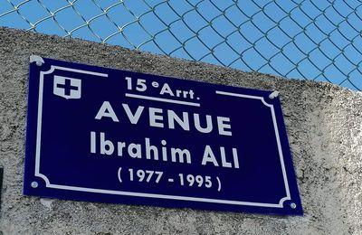AVENUE IBRAHIM ALI ! ENFIN !