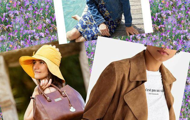 Mode, tendances grandes tailles chez La Redoute et sacs chez Noah.