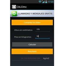 CALCImc, calcula tu IMC con esta app Android gratuita