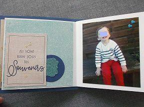 Mini album et carte enfant