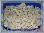 Crumble poires, bananes, chocolat et gingembre