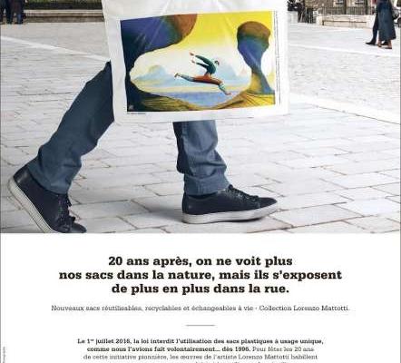 Grande distribution : la campagne sacs de caisse de Leclerc