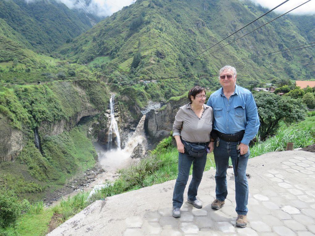 Voyage en Equateur..... De Puyo à Banos par la route des cascades.