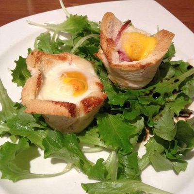 Muffin croque madame 3pp