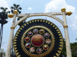Les gongs de l'ASEAN - Vu au temple (19-07)