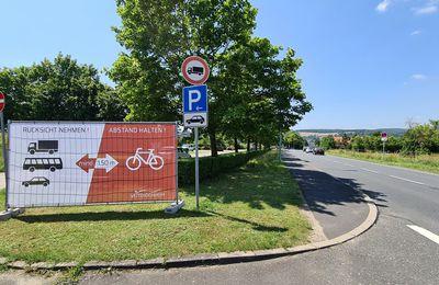 Seitenabstand zu Radfahrern: Gemeinde Veitshöchheim startet Aufklärungskampagne für mehr Sicherheit