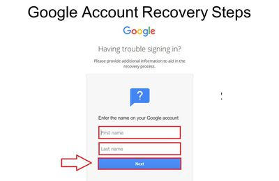 How To Recover My Google Account
