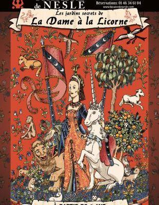 Les jardins secrets de la Dame à la Licorne : un conte pour petits et grands enfants