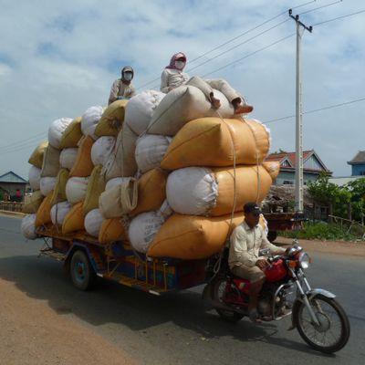 Derniers coups de pedales de Phnom Penh a Battambang
