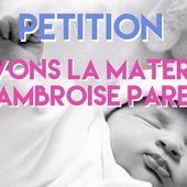 Quatre mairies mobilisées pour sauvergarder la Maternité !