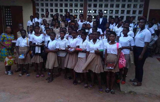 Les jeunes Yali, session 15 de CRL YALI Dakar célèbrent la journée dédiée à la jeune fille