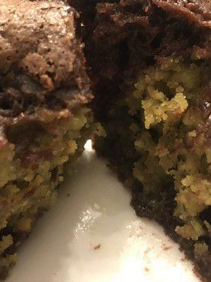 Moelleux au chocolat coeur pistache