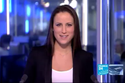 2012 01 16 @17H00 - JESSICA LE LASURIER, FRANCE 24, THE NEWS