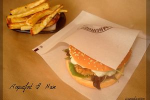 Chicken Burger, Noix et Roquefort