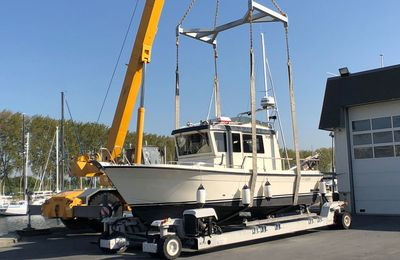 Boating industries - Access to the sea for professionals now authorised in France