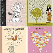 Solyzaan et les couvertures de nos Anthologies Éphémères