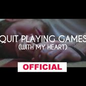 Jason Parker feat. ReBeat Boyz - Quit Playing Games (With My Heart) (Official Music Video)