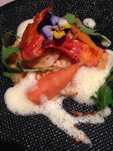 """restaurant """" le bel Horizon"""" au Chambon sur Lignon"""