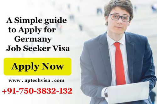 Germany Job Seeker Visa Process Submit Application Online Learn How To Apply For Germany Job Seeker Visa Form India Or Anywhere Get 100 Job Seeker Visa With In A Month