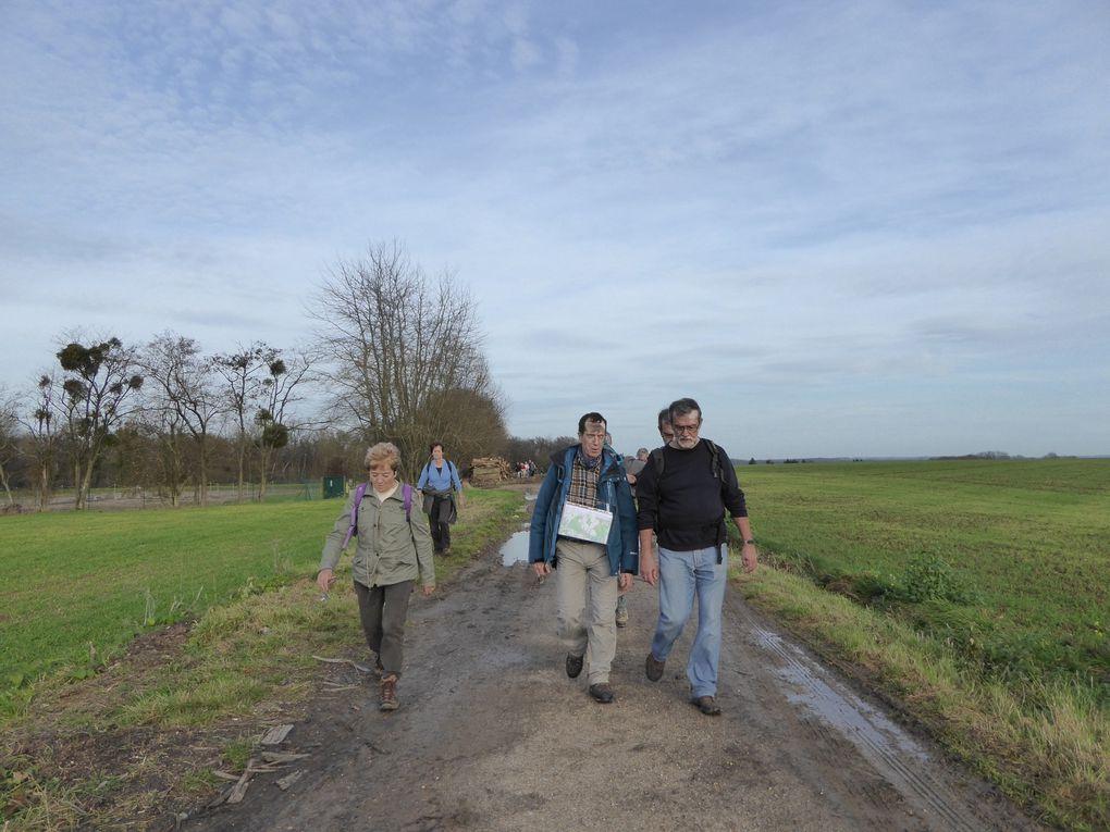 Randonnée en boucle de Crouy-Sur-Ourcq. 2/2 - 20 km.
