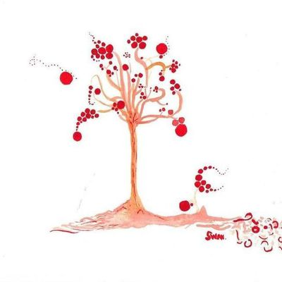 red bubble tree
