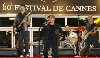 U2 -Palais des Festival - Cannes -France  -20/05/2007