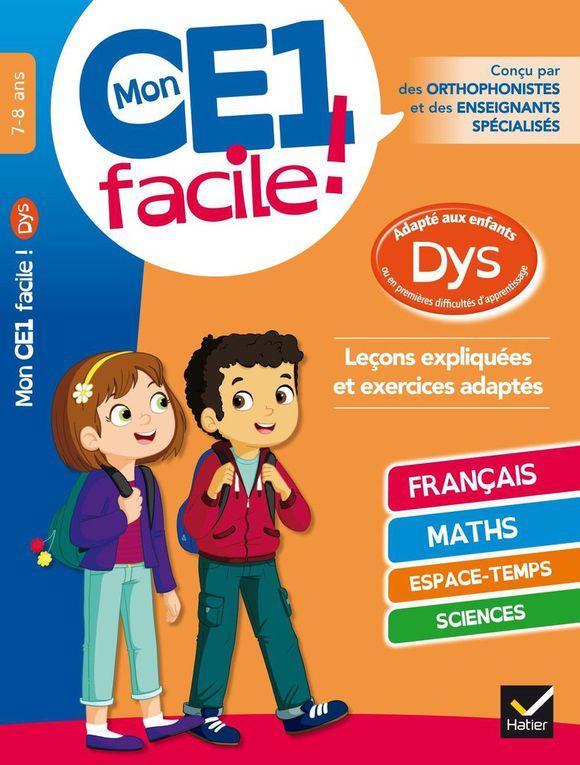 Cahier de vacances Dyslexie - CE1