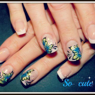 Mes petits fleurs bleues