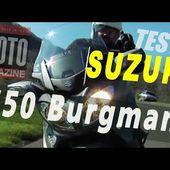 Suzuki 650 Burgman : le scooter GT protéiforme (2013)