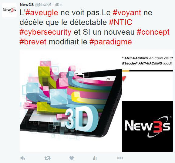 brevet patent 3d navigation cybersecurity