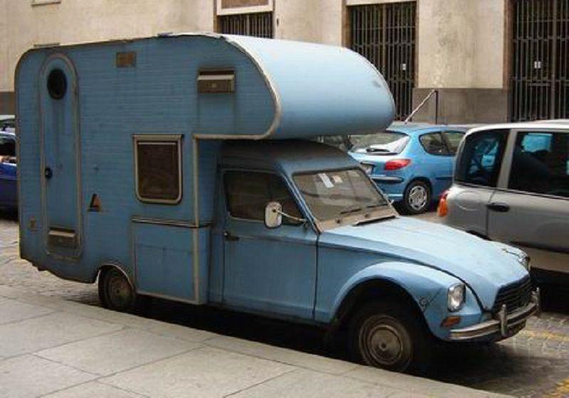 Camping-cars insolites : à vos Smartphones !