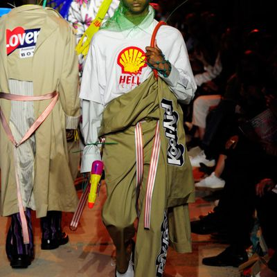 RUSHEMY BOTTER AND LISI HERREBRUGH  MENSWEAR COLLECTION WON HYERES GRAND PRIZE 2018