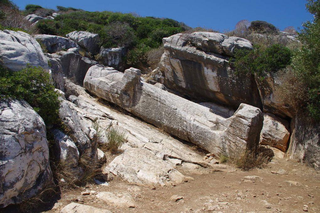 La Côte Nord et le Kouros d'Appolonia