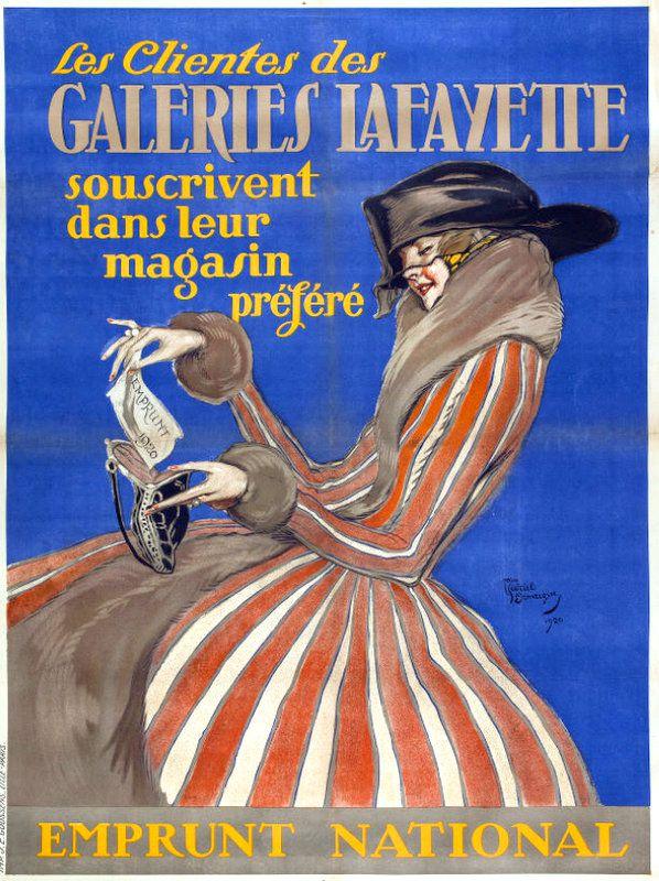 PUBLICITES : LES GRANDS NOMS DE L'AFFICHE... JEAN GABRIEL DOMERGUE.