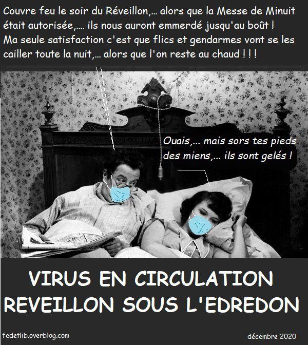 REVEILLON SOUS L'EDREDON