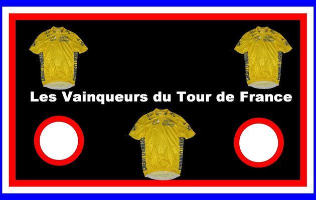 Les vainqueurs du Tour de France 1903 - 2015